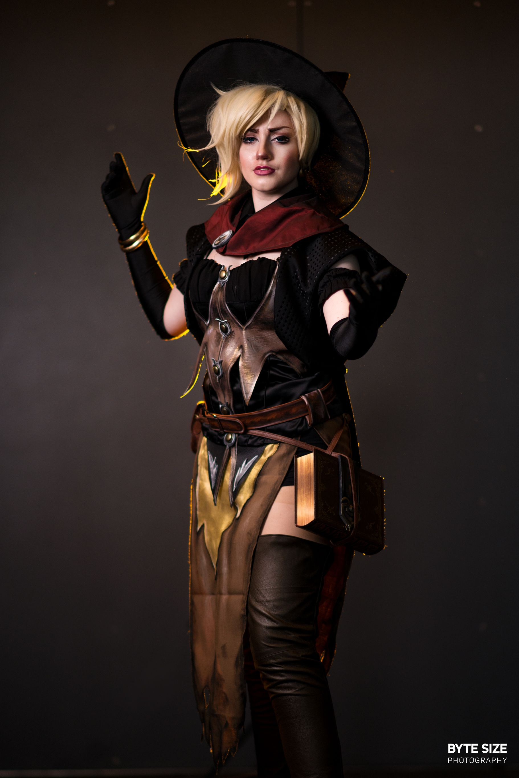 Witch Mercy (Overwatch) - Cosplay Photo - Cure WorldCosplay ...