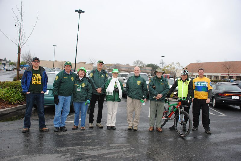 Just a few of the members of the Volunteer Trail Safety