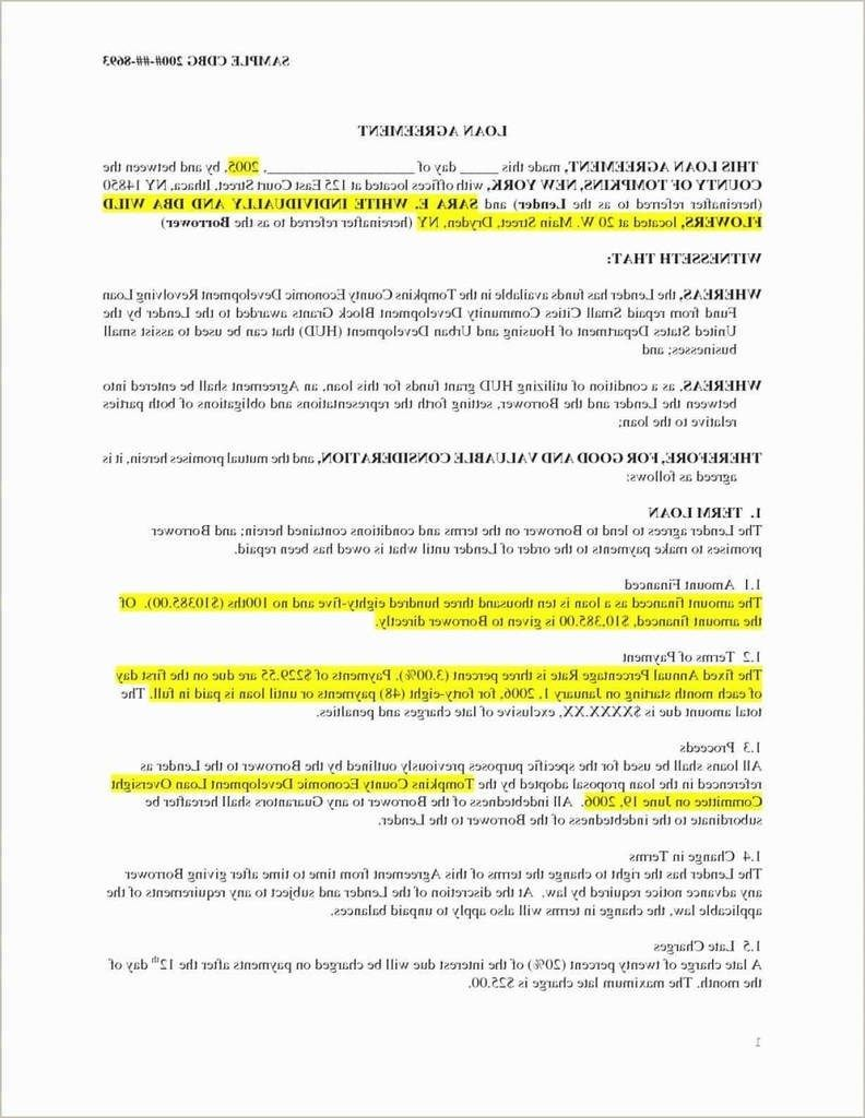 Tenancy In Common Agreement Template Free Printable Small Business Loans Business Loans Templates