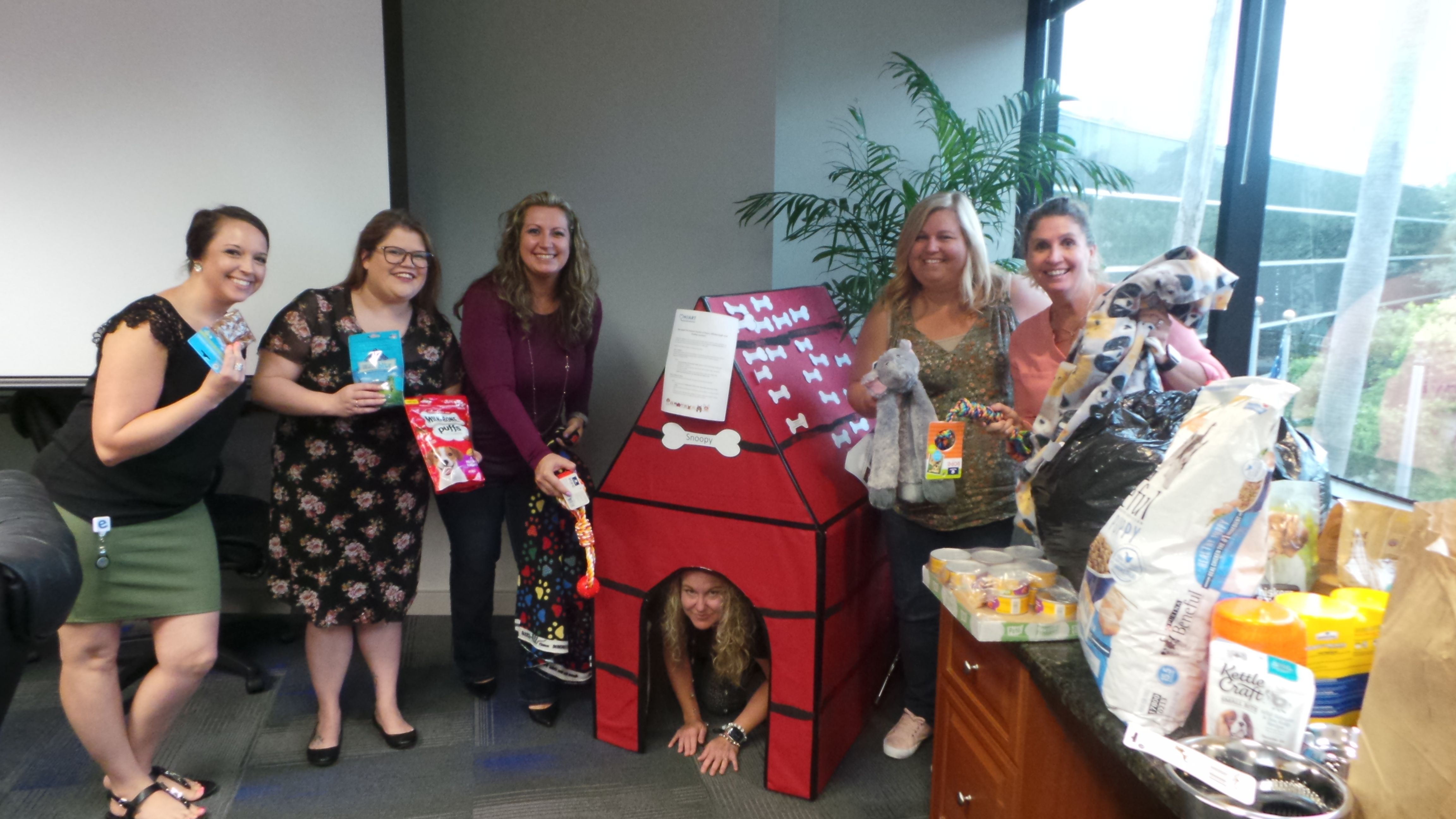 We Spent The Afternoon Packing Up Our Pet Supply Donations And Making Pet Blankets Before Sending Them Off To The Humane Hillsborough County Hillsborough Pasco