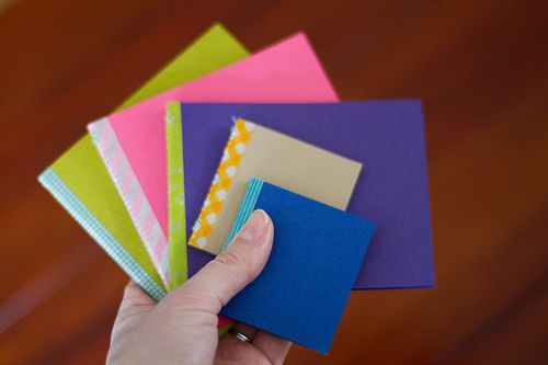 mini sketchbooks (tutorial by cakies)