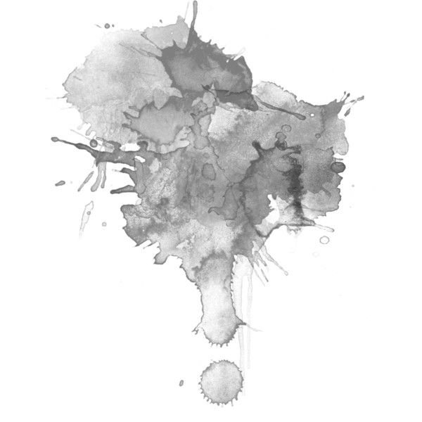 Watercolor Splashes Black White Liked On Polyvore Featuring Splashes Effects Backgrounds F Watercolor Splash Watercolor Background Watercolor Splash Png