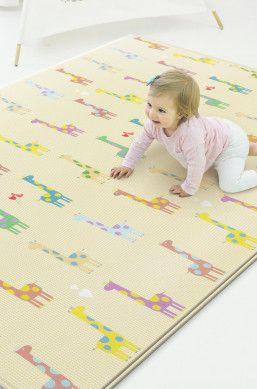 Spielmatte Kinderzimmer | Spielmatte Baby Care Giraffe In Love Multicolor Kinderzimmer
