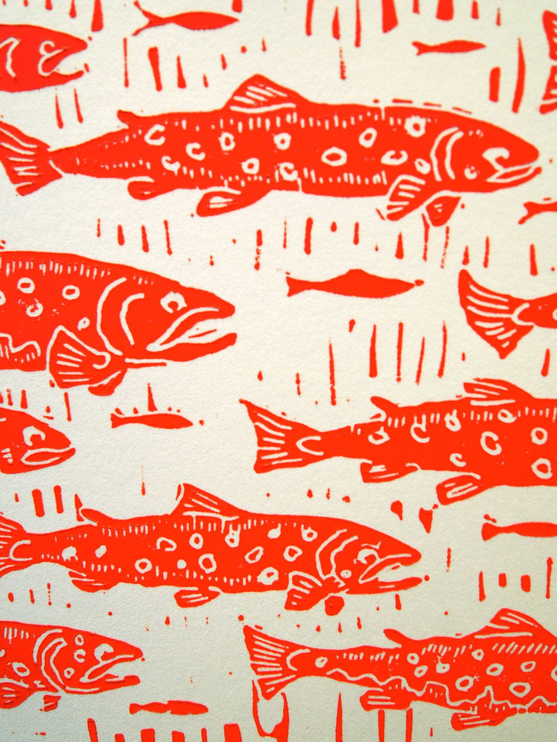 Trout on the walls | PATTERN | Pinterest | Trout, Fish and Fish art