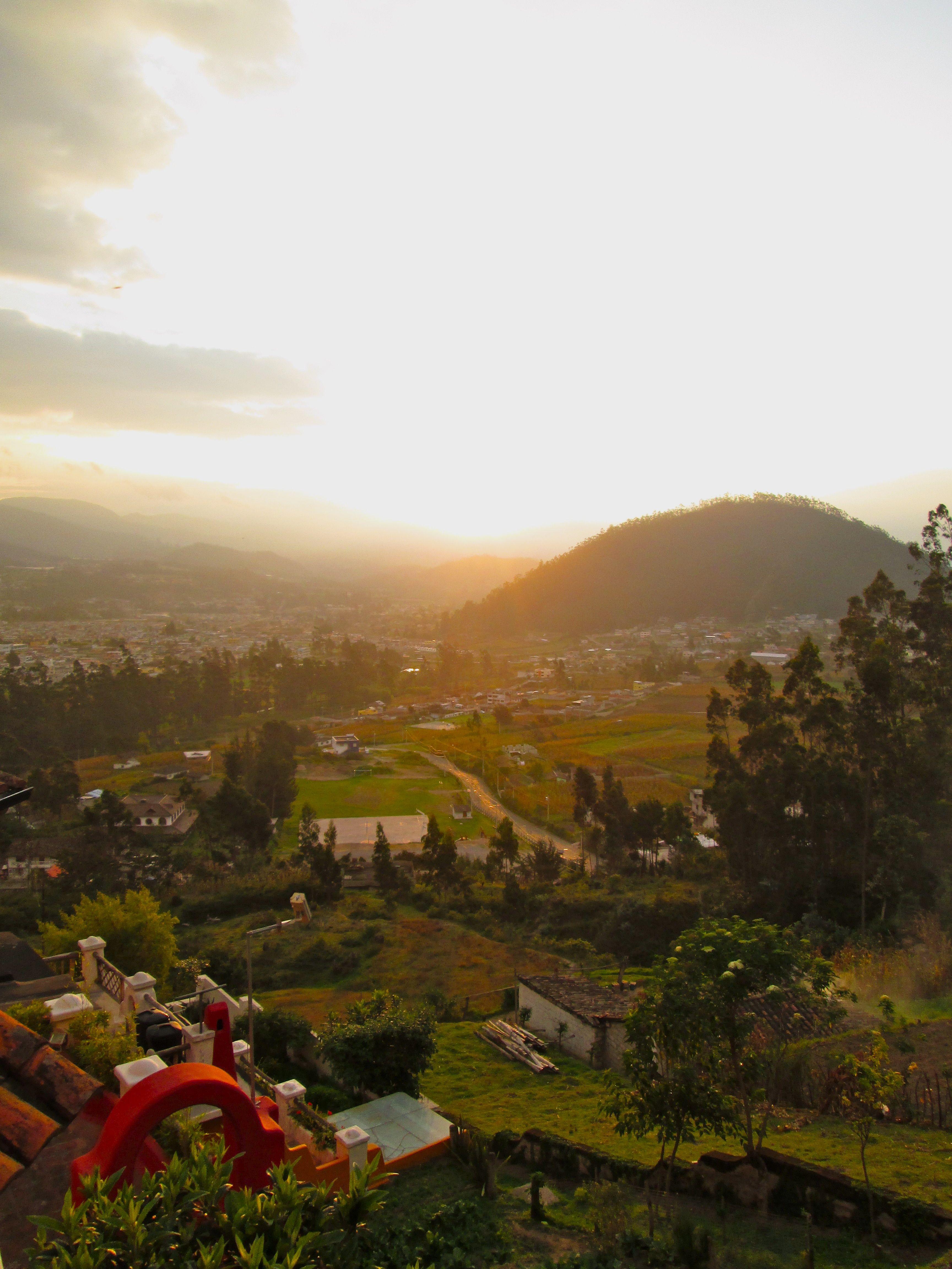 Kacy Warning Spring 2013 Sit Ecuador Culture And Development Landscapes Landmarks Otavalo Ecuador Sunset Over Landmarks Natural Landmarks Otavalo