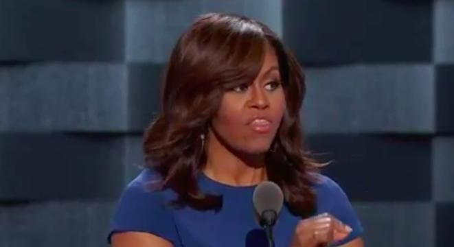 Watch Michelle Obama's Scene-Stealing DNC Speech