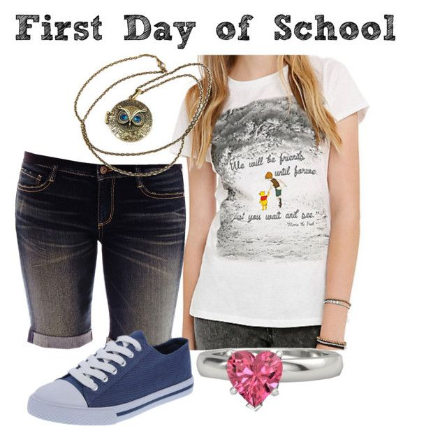 """""""First Day of Junior Year!"""" by chinesedragon88 ❤ liked on Polyvore featuring Arizona, Gemvara and highschool"""