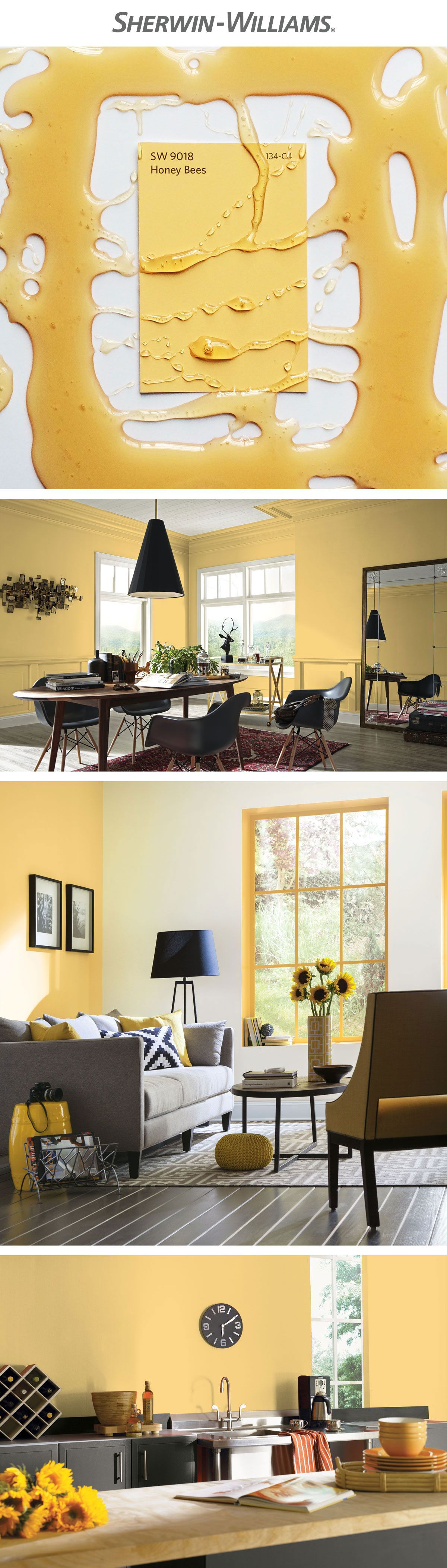 Sweeten any space with a soft, sunny hue, like April\'s Color of the ...