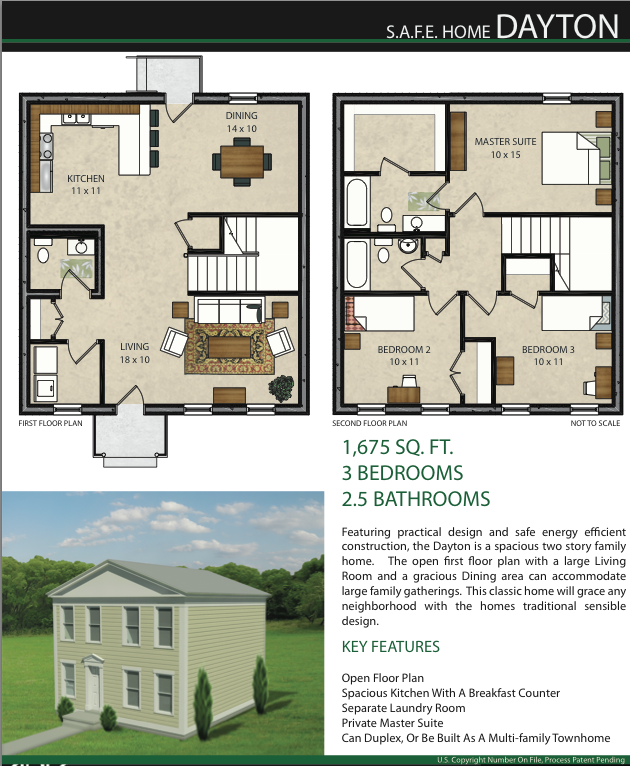 New Home Plans Position Icf For Affordable Efficient Storm Resistant Housing New House Plans Floor Plans House Plans