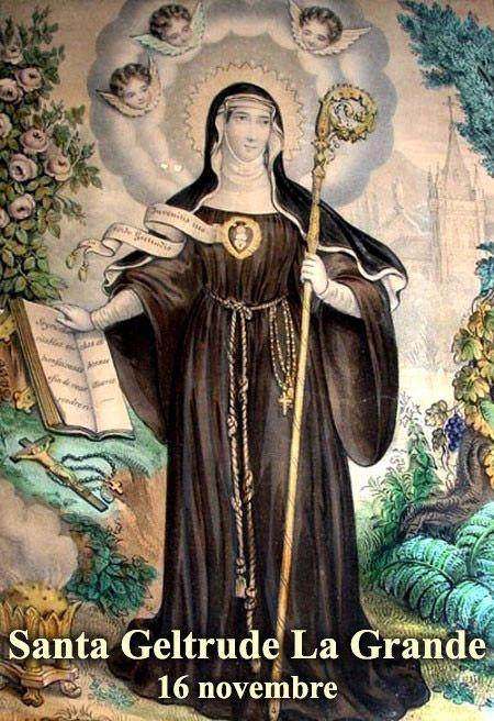 Risultati immagini per 16 novembre il santo del giorno