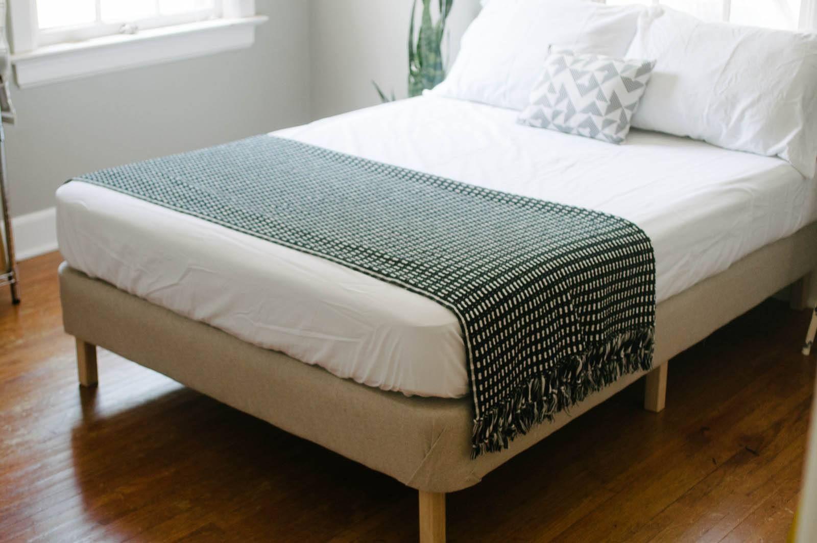 15 Bedroom Designs With DIY Bed Frames Diy platform bed