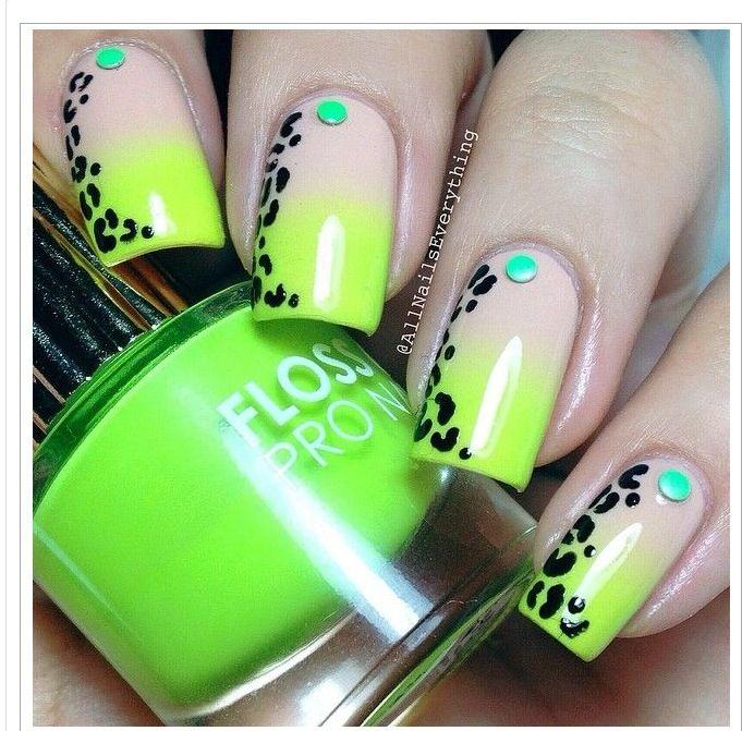Lime giraffe   Beautiful nails   Pinterest   Diseños de uñas y Nuevas