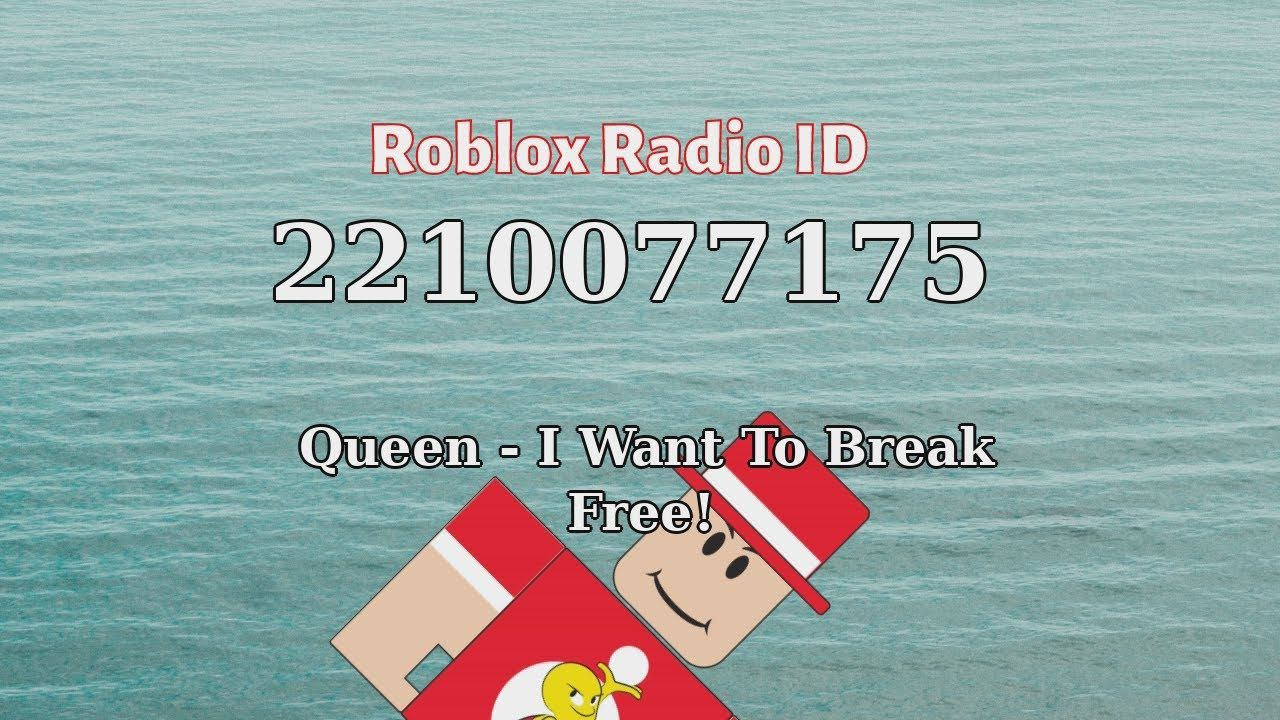Queen I Want To Break Free Roblox Id Roblox Radio Code Roblox Musi Free Radio I Am A Queen Roblox