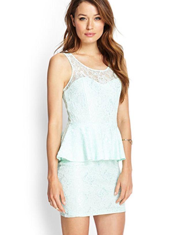 Forever 21 Peplum Dress Wedding Stuff Pinterest Peplum Dresses