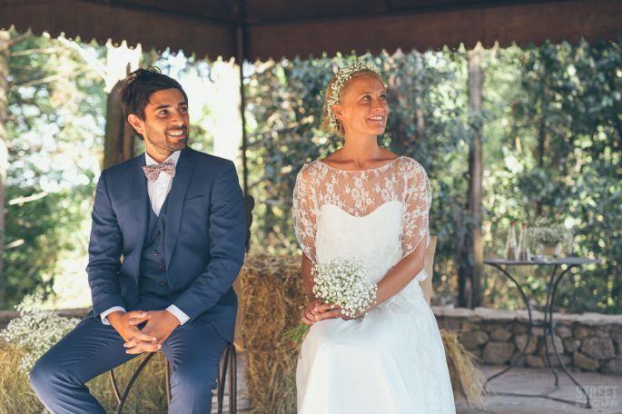 Anaëlle et Alex, un mariage bohème chic rempli didées très originales !