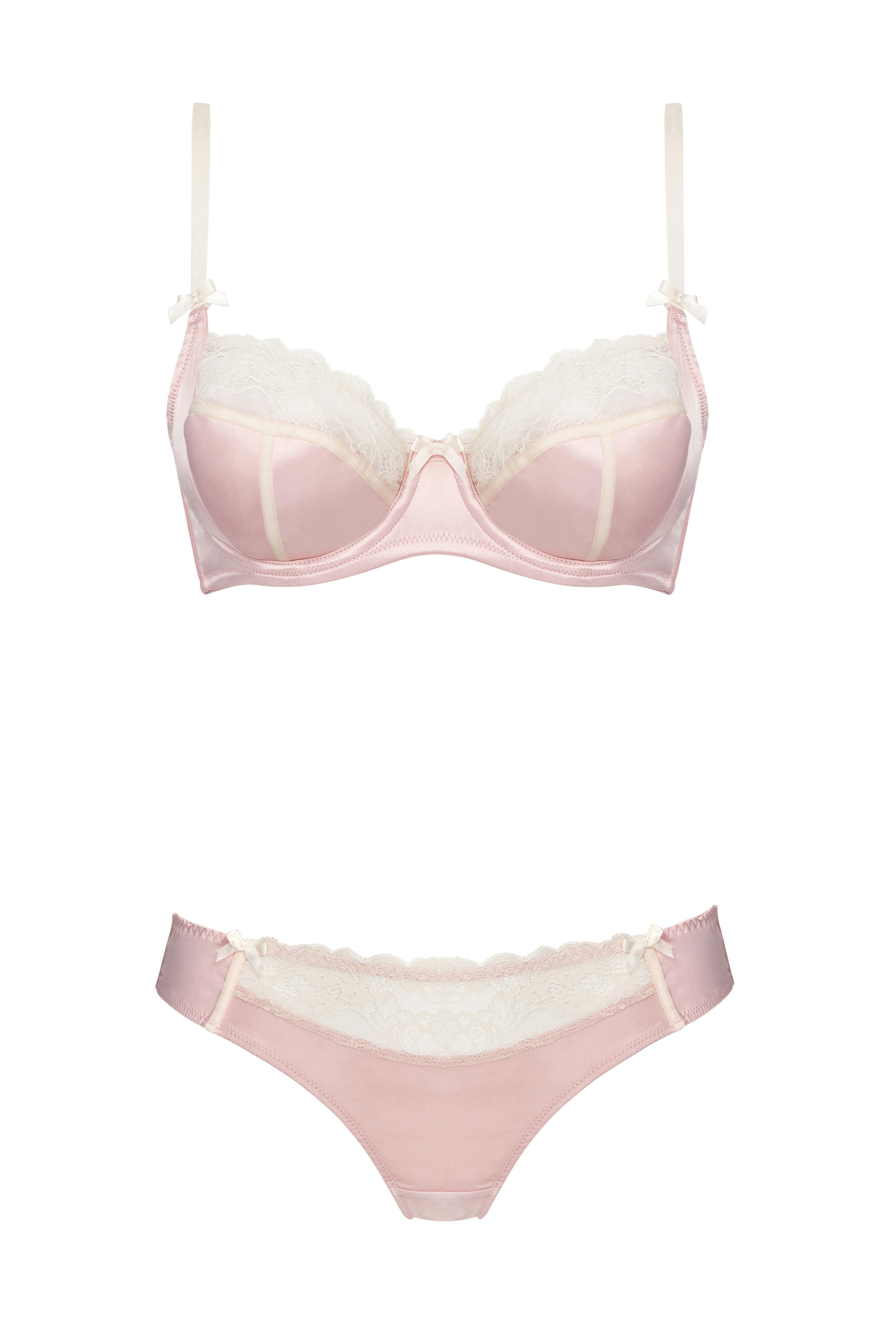Affinitas Intimates SS15 Nadia Unlined Wire Bra and Bikini Brief ...