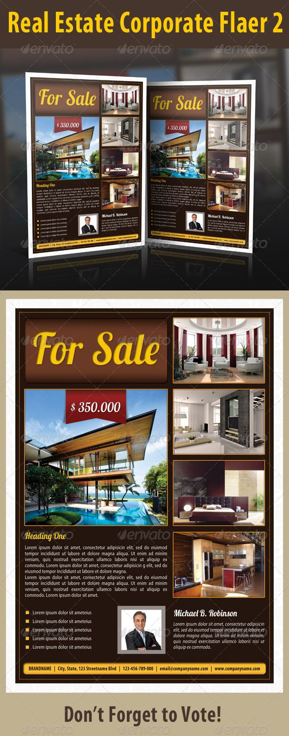 Real Estate Corporate Flyer 2 - GraphicRiver Item for Sale