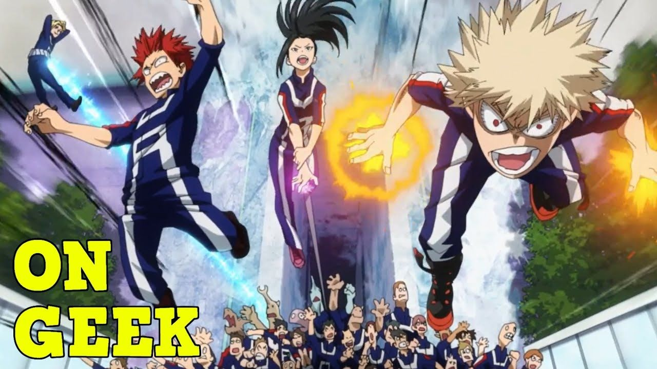 Why Powers in My Hero Academia are AWESOME On Geek