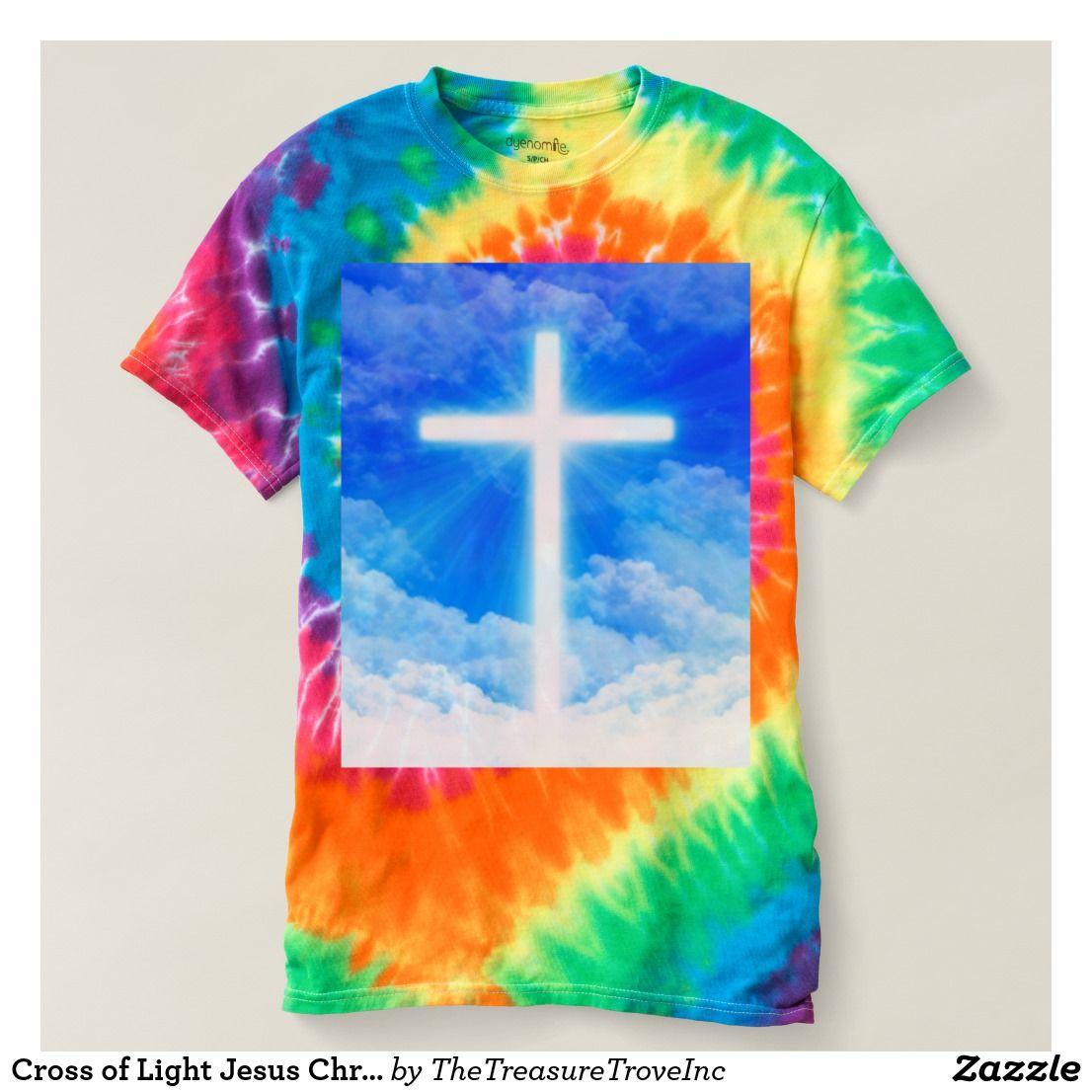 Cross Of Light Jesus Christ Customizable Christian Design The Cross Of Light Symbolizing The Love And Grace Christian Messages Jesus Shirts Christian Designs