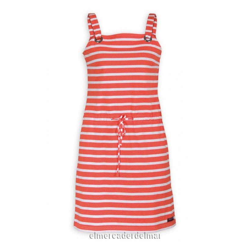Vestido náutico algodón de mujer | Ropa Nautica mujer | Pinterest ...
