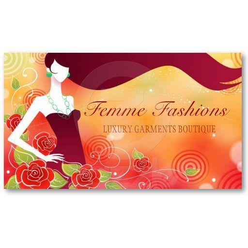Fashion Boutique Business Card Boutique Business Cards Printing Business Cards Business Card Design