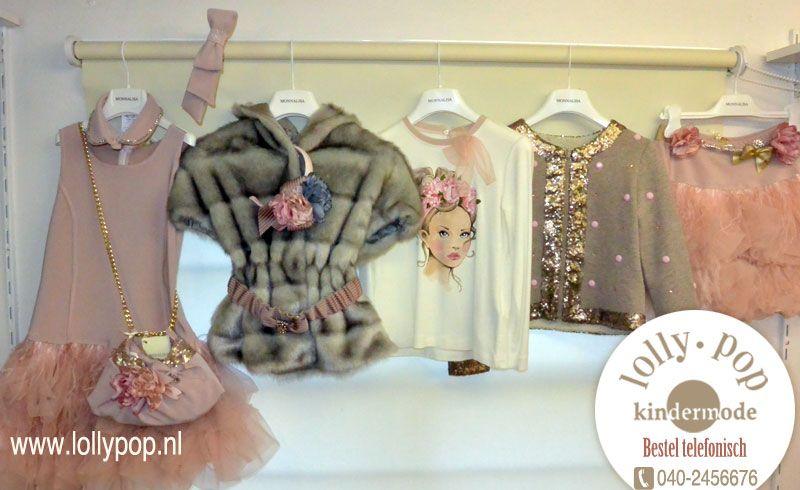 Monnalisa Kinderkleding.Monnalisa Chic La Vie En Rose Verkrijgbaar Www Lollypop Nl