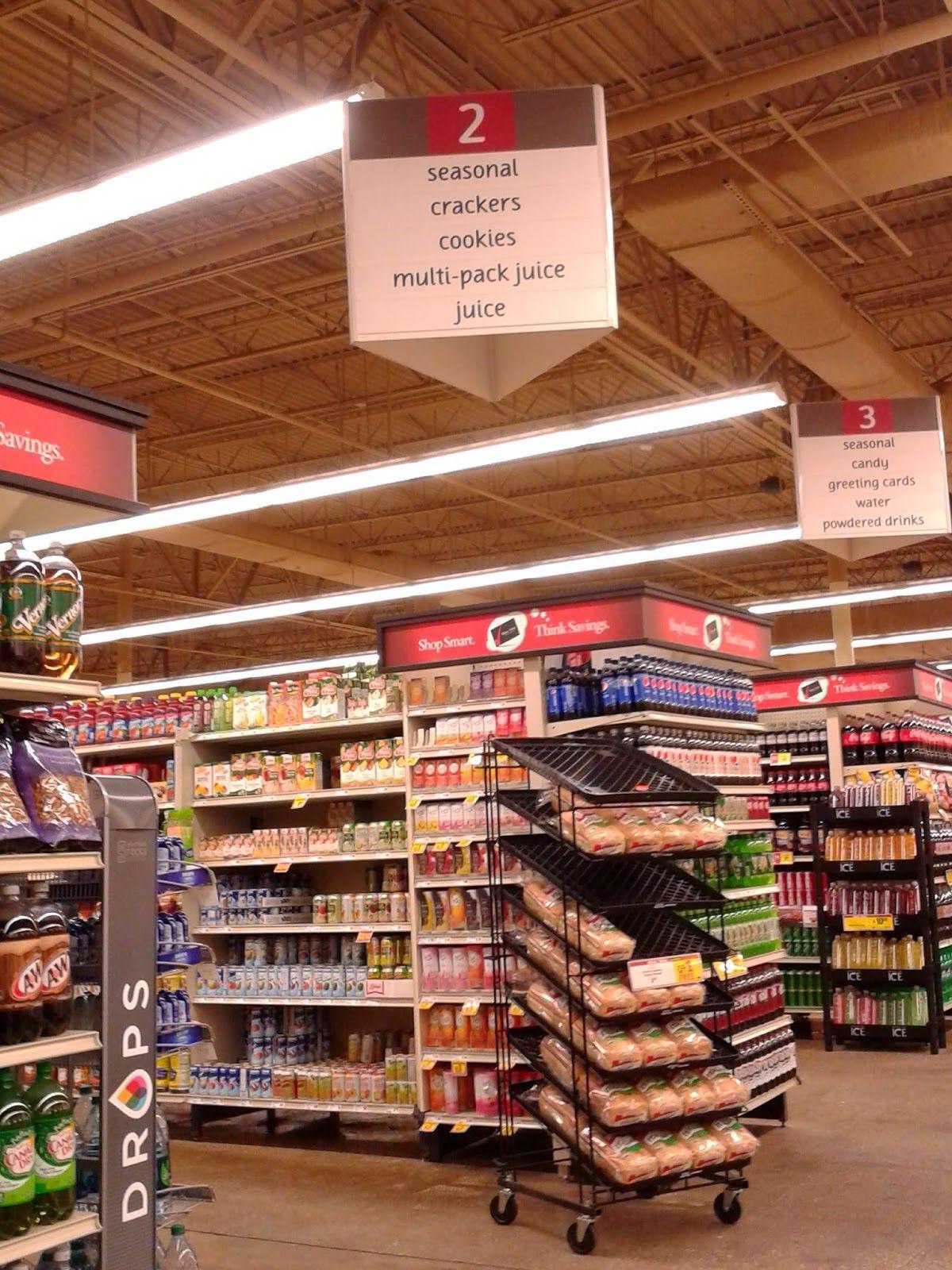 Grocery Aisle Marker Pop