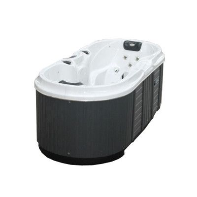 Bliss 2 Person 22 Jet Plug And Play Hot Tub With Led Light With