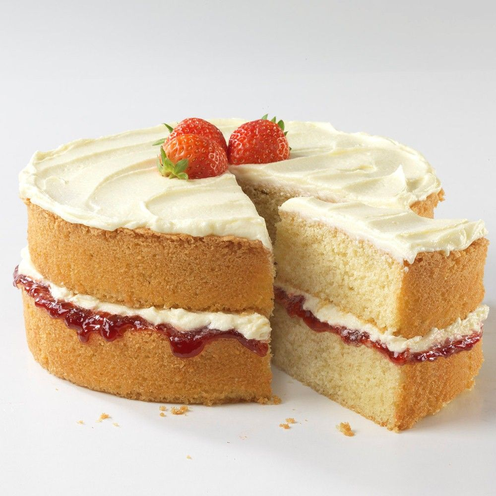 When Was A Victorian Sponge Cake Made