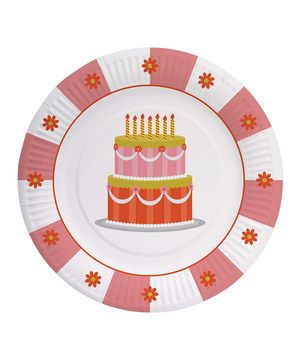 Loving this Party Partners Sweet Soiree Paper Plate - Set of 16 on #zulily! #zulilyfinds