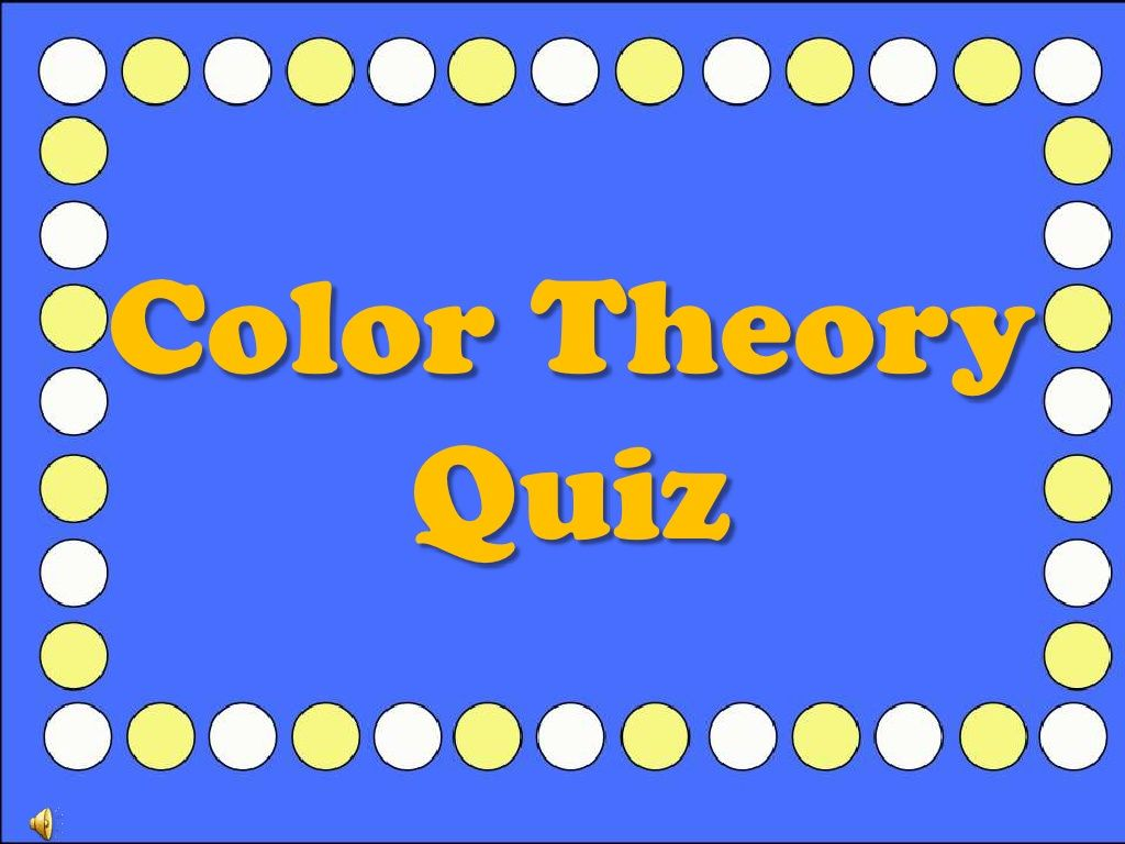 color-theory-quiz by mbenesh via Slideshare | Middle School Art