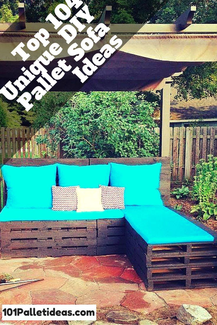 diy outdoor pallet sectional. 10 DIY Simple Couch - How To Make A | And Crafts Diy Outdoor Pallet Sectional U