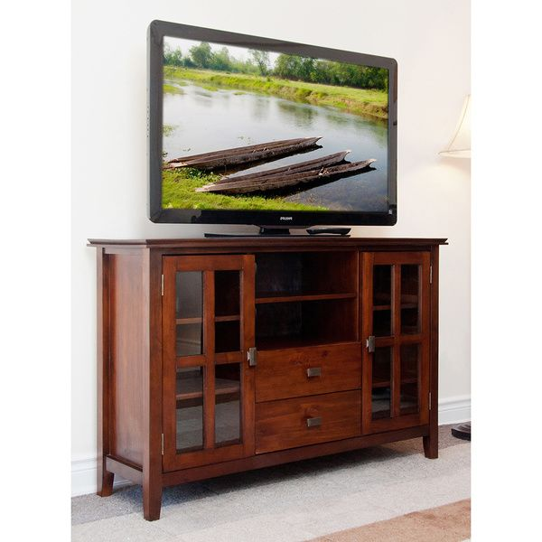 Best Stratford Collection Tall Tv Stand Overstock™ Shopping 400 x 300