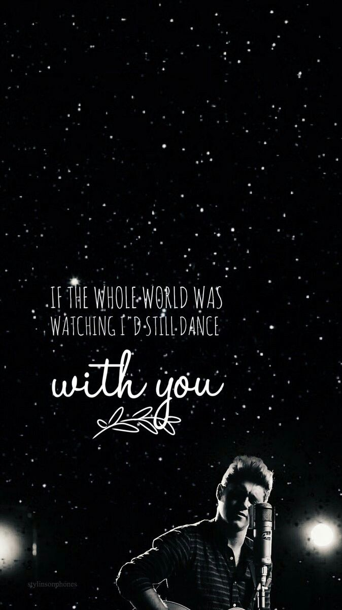 Niall Horan Lockscreen Starrybeauty Dance With You Wall Quotes One Direction Wallpaper