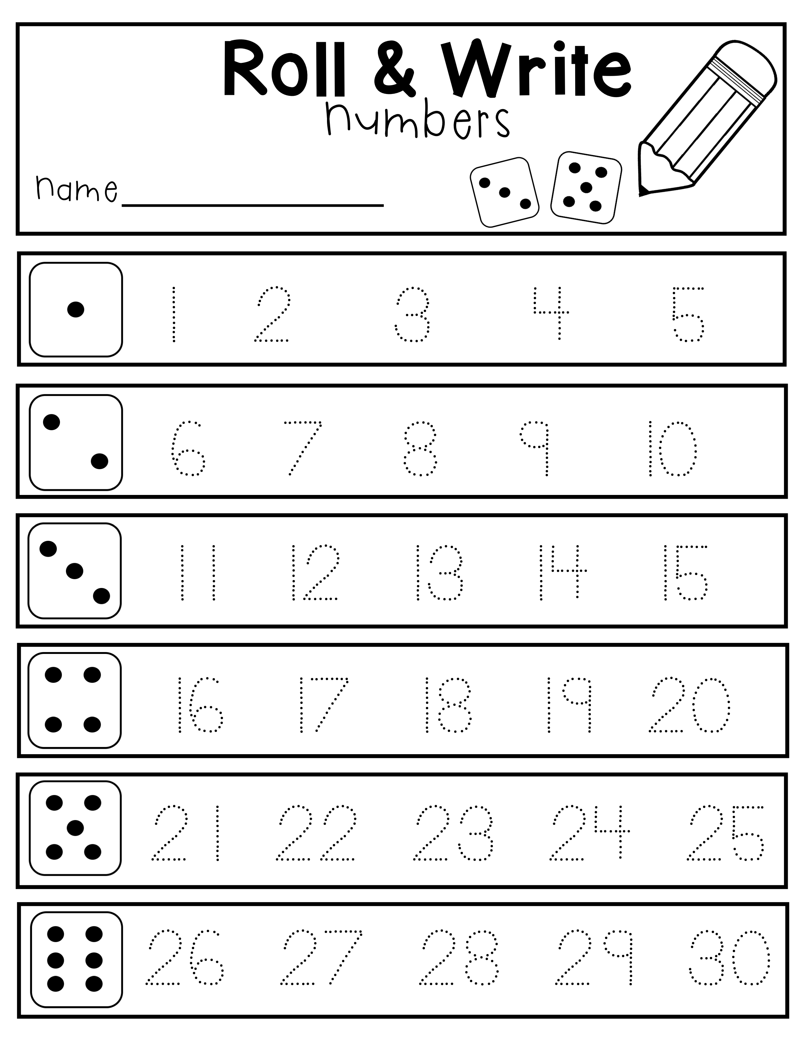 Writing Numbers In Letters Worksheets