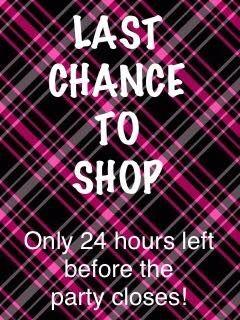 Last Chance to SHOP!!!  635aad3a4119b
