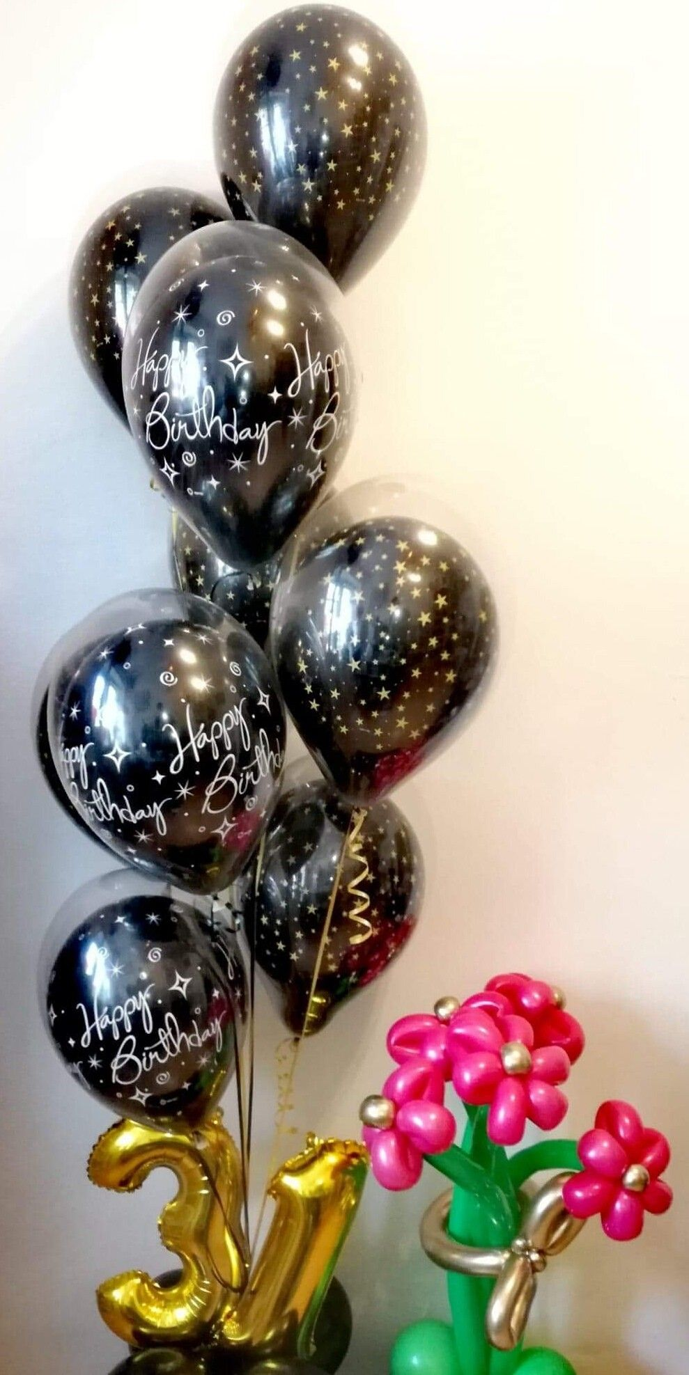 Najlepsze Polaczenie Na Urodzinowy Prezent To Balony I Kwiaty