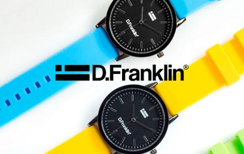 Relojes Lewis Rubber con un descuento de 7€ en D.Franklin