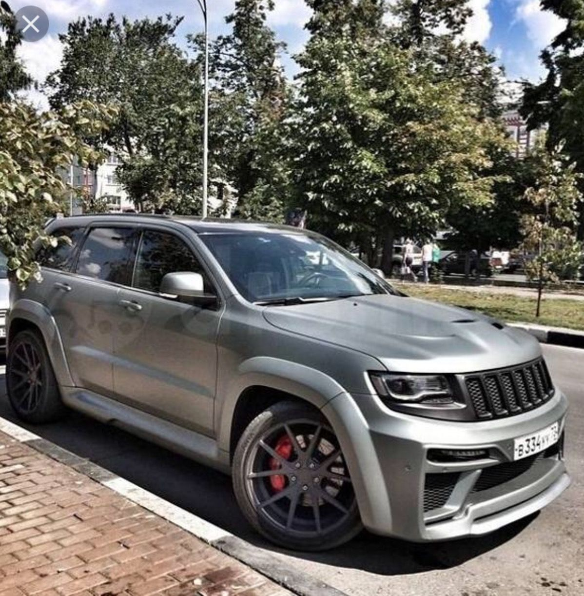 jeep grand cherokee srt8 hellcat tyrannos edition (707hp v8