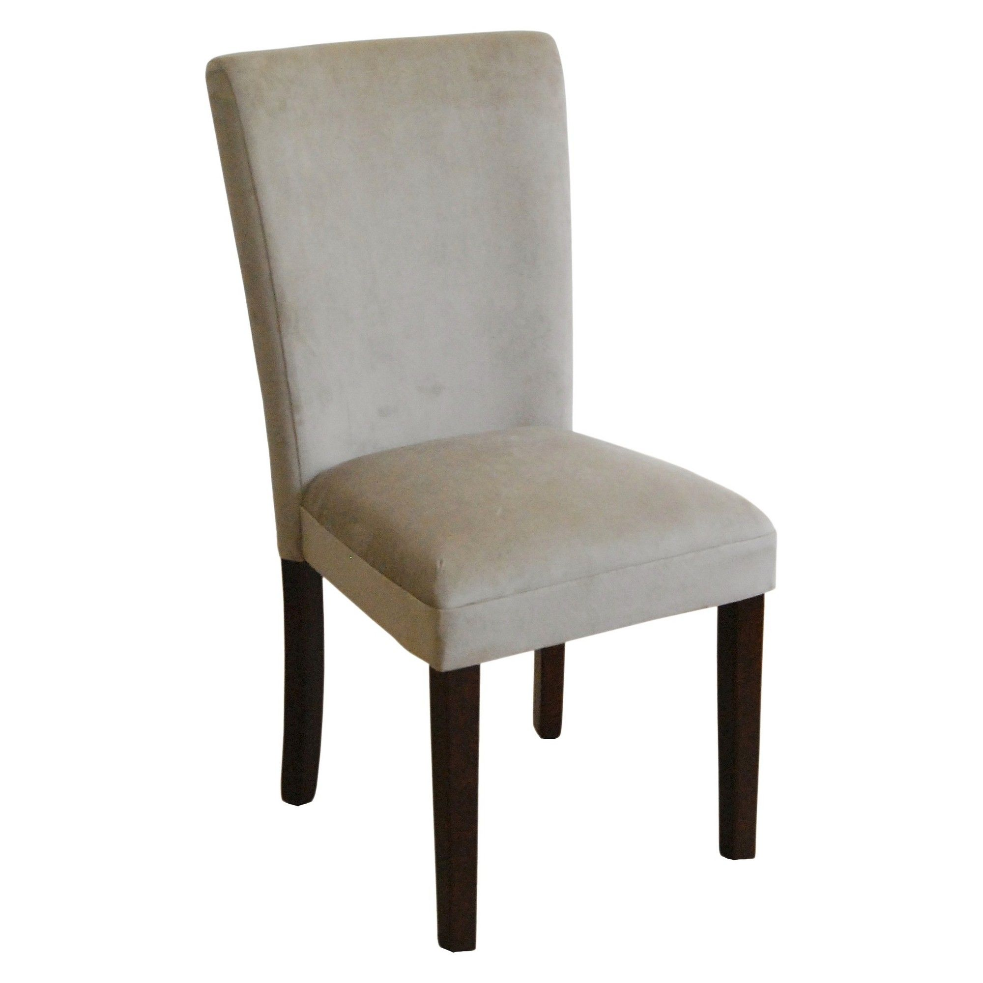 Parsons Chair with MidTone Wood Tan (Set of 2