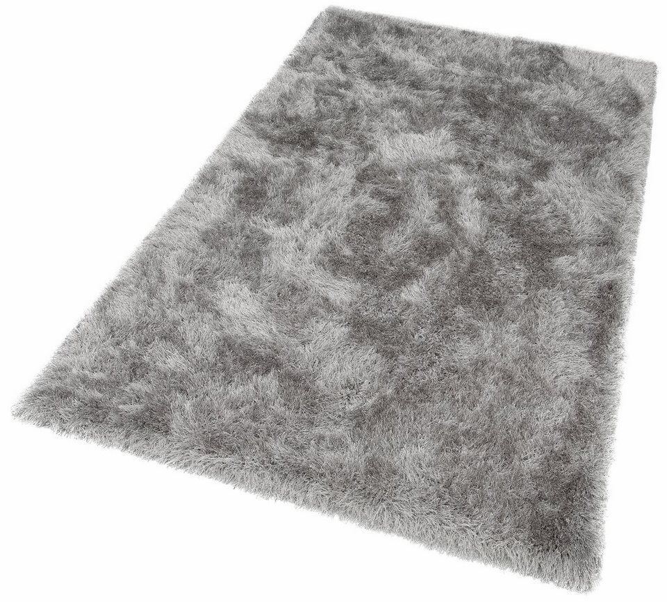Hochflor Teppich Glossy 411 Merinos Rechteckig Höhe 70 Mm Besonders Weich Durch Microfaser Wohnzimmer Online Kaufen Otto Hochflor Teppich Teppich Microfaser