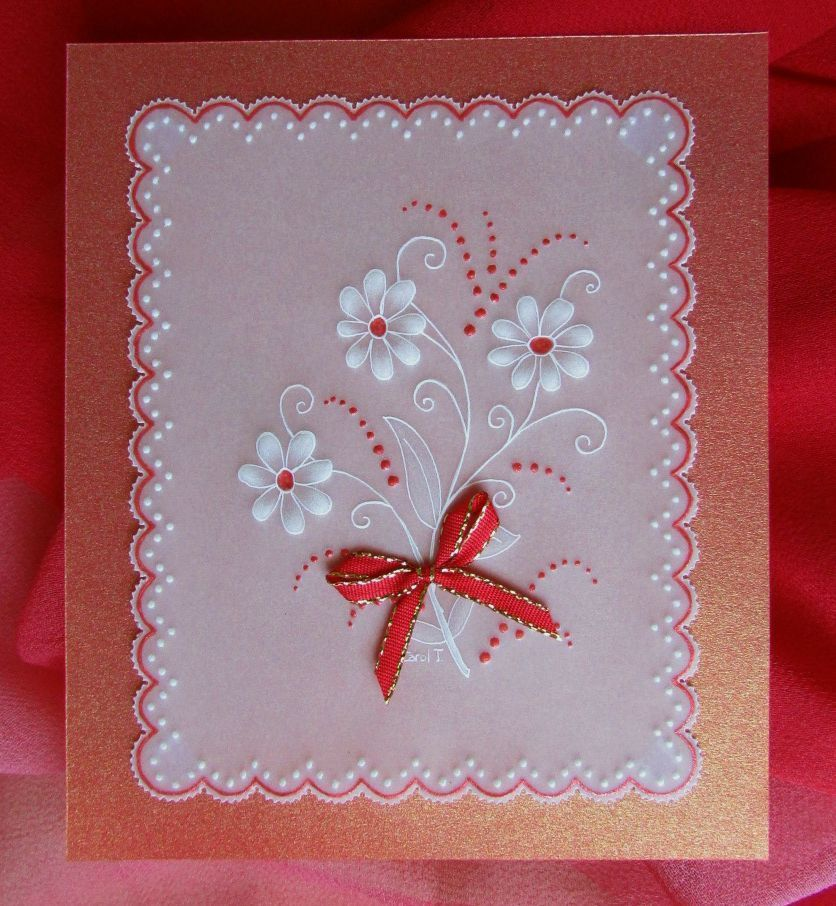 This cute sample card that I made can be used for any occasion - Sample Cards