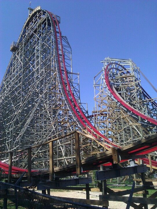Texas Giant Arlington Tx Amusement Park Rides Biggest Roller Coaster Roller Coaster Tycoon
