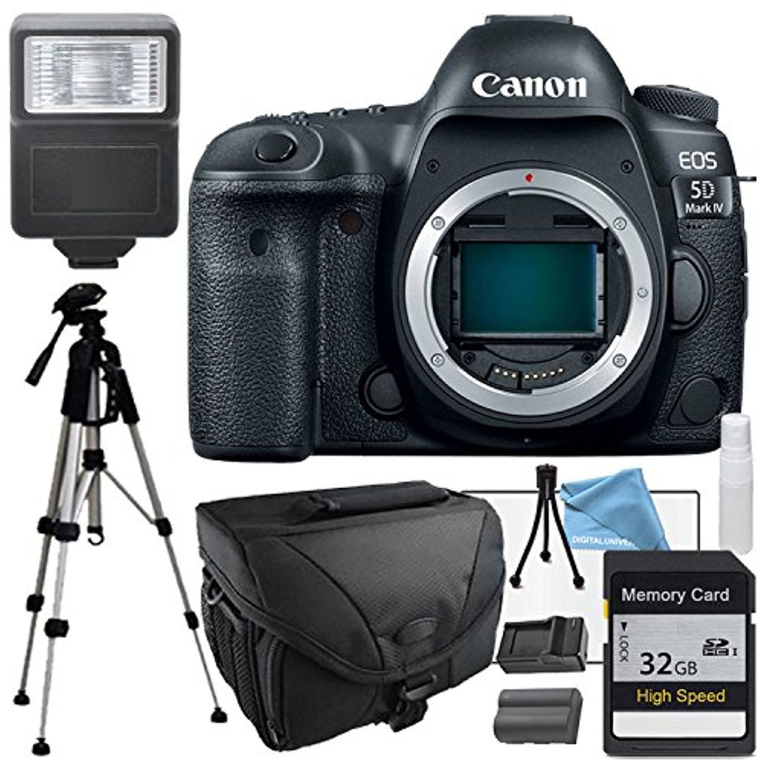 Canon Eos 5d Mark Iv 4 Body Only 32gb Sd Memory Card Flash Camera Dslr Extra Battery Charger Tripod Awesome Products Selected By Anna Churchill