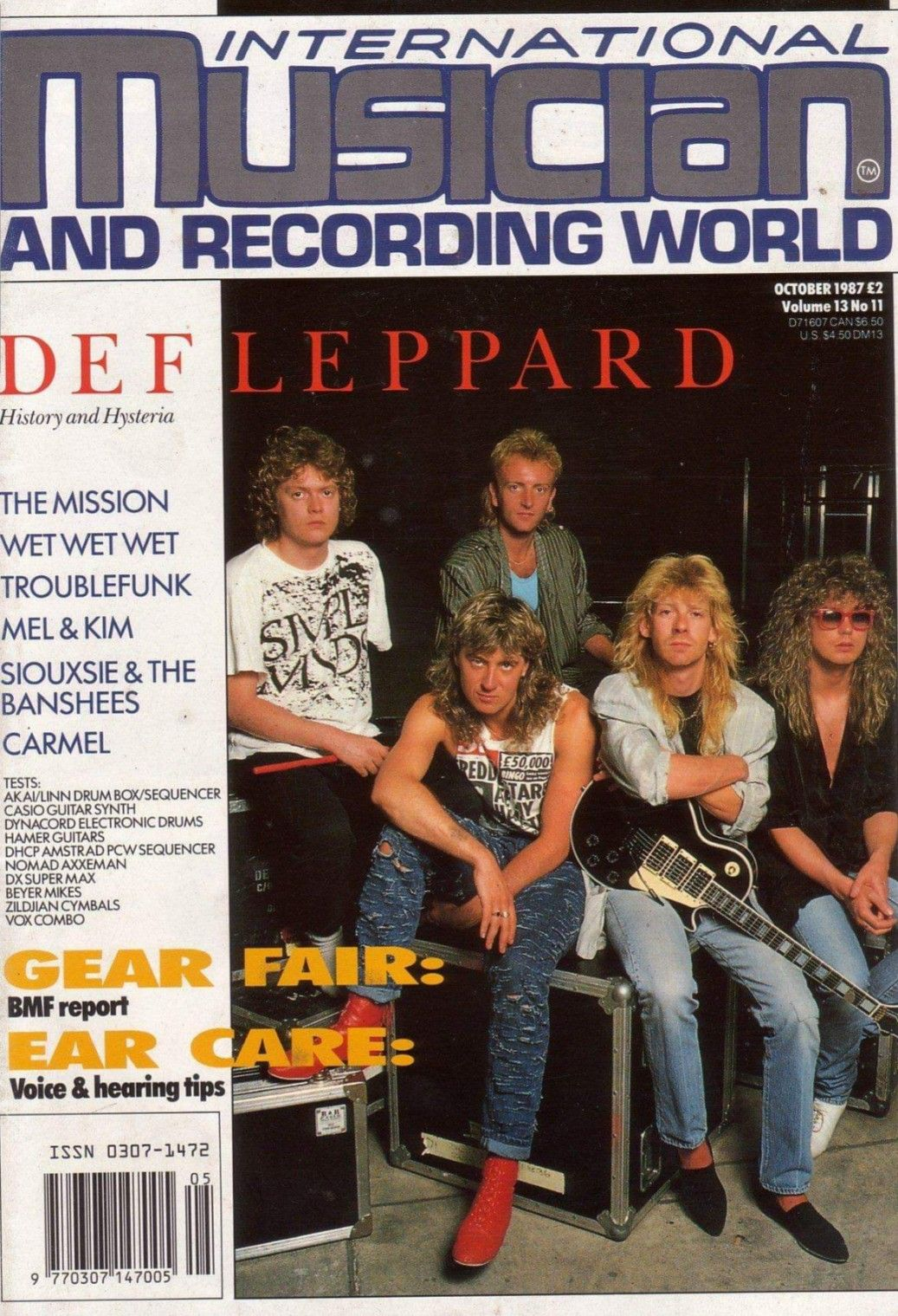 Pin by Sheryl on JE 1986 in 2019 | Def Leppard, Vivian campbell