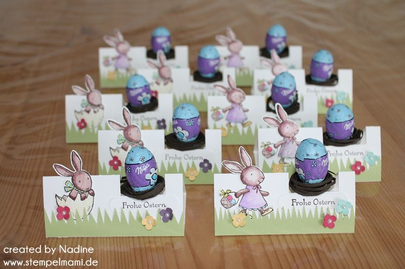ostern easter stampin  goodie tischkarte box give