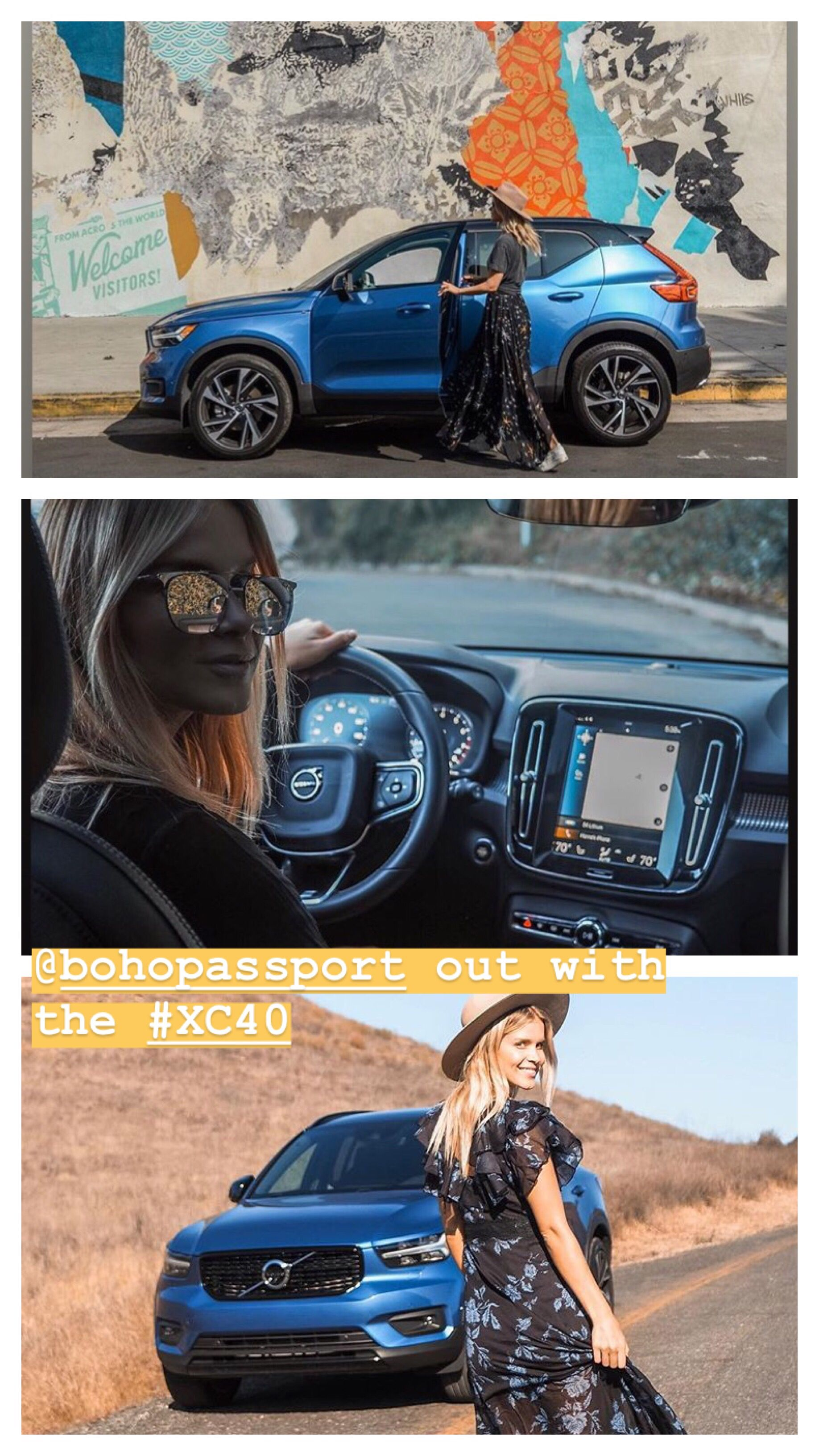 Boho Passport With The Volvo Xc40 Volvo Volvo Cars Compact Suv