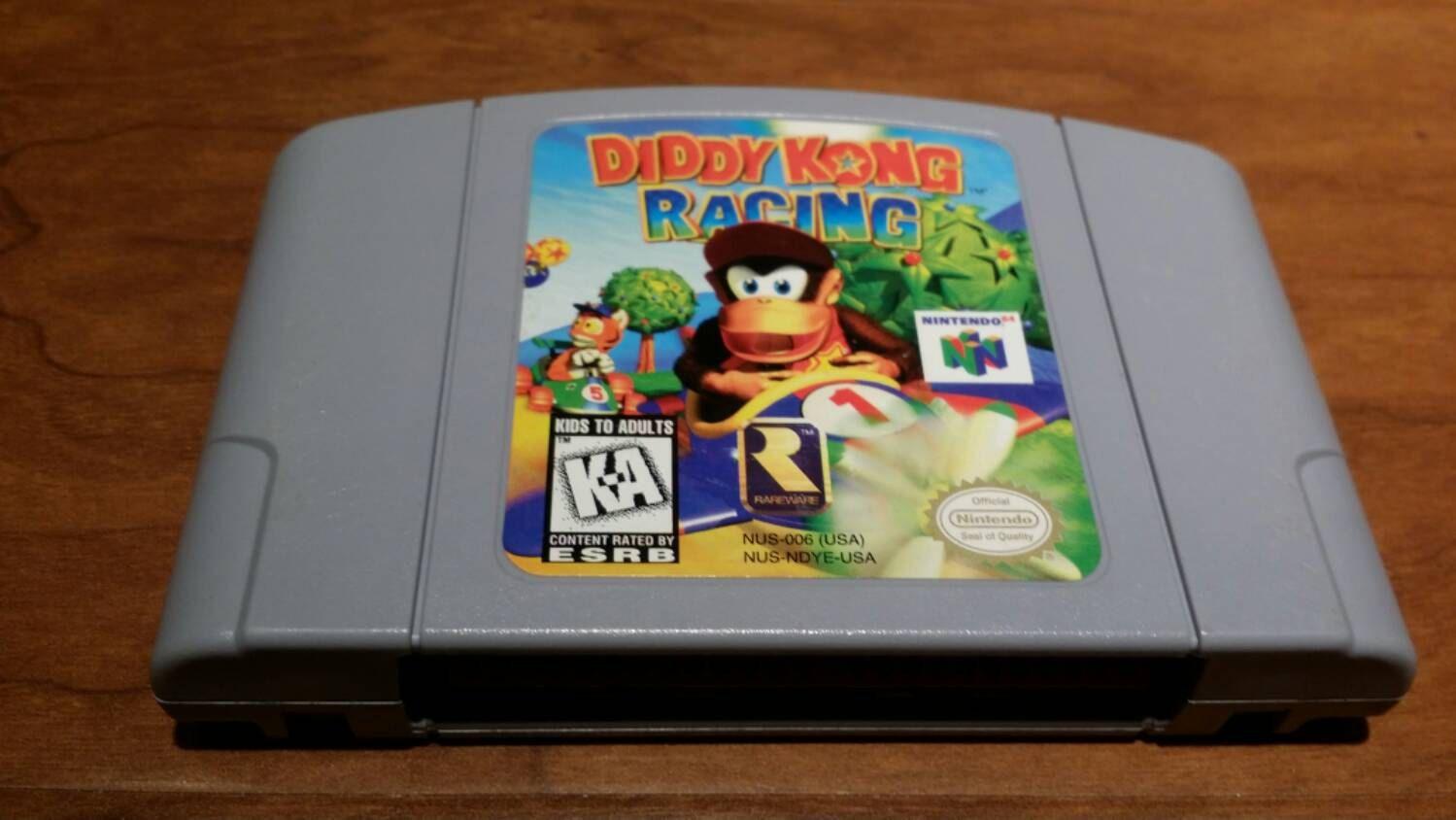 Diddy Kong Racing Nintendo 64 Video Game N64 Diddy Kong Racing