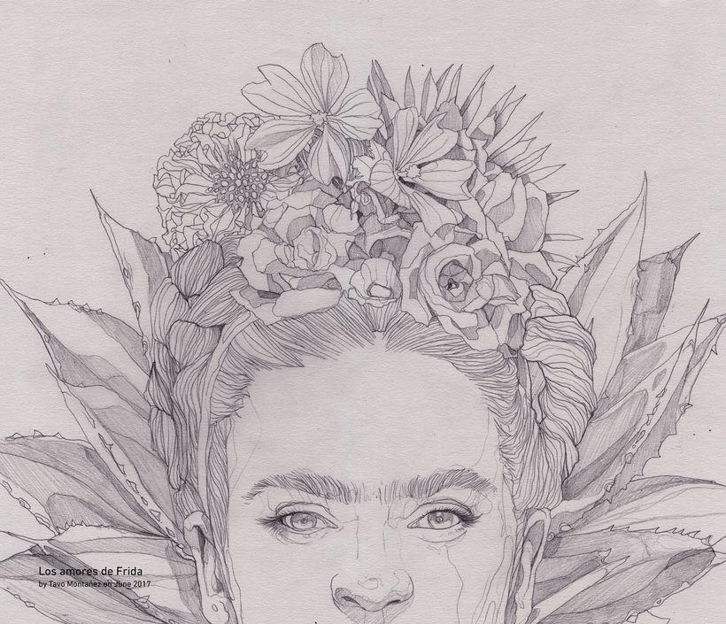 Los Amores De Frida 16 Frida Kahlo Dibujo Frida Kahlo Pinturas Frida Dibujo