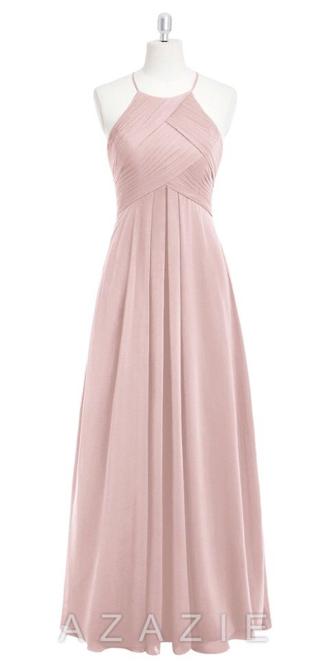 3ab64c94b43 Shop Azazie Bridesmaid Dress - Ginger in Chiffon. Find the perfect made-to-